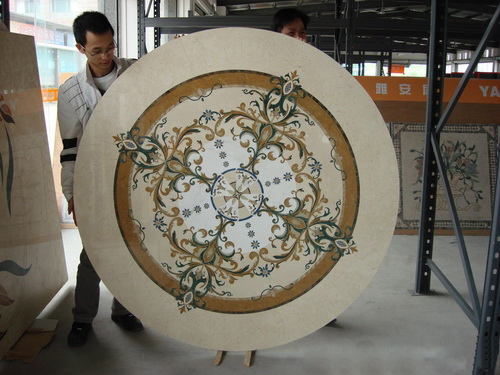 Natural Stone Medallion, China. ALSM010