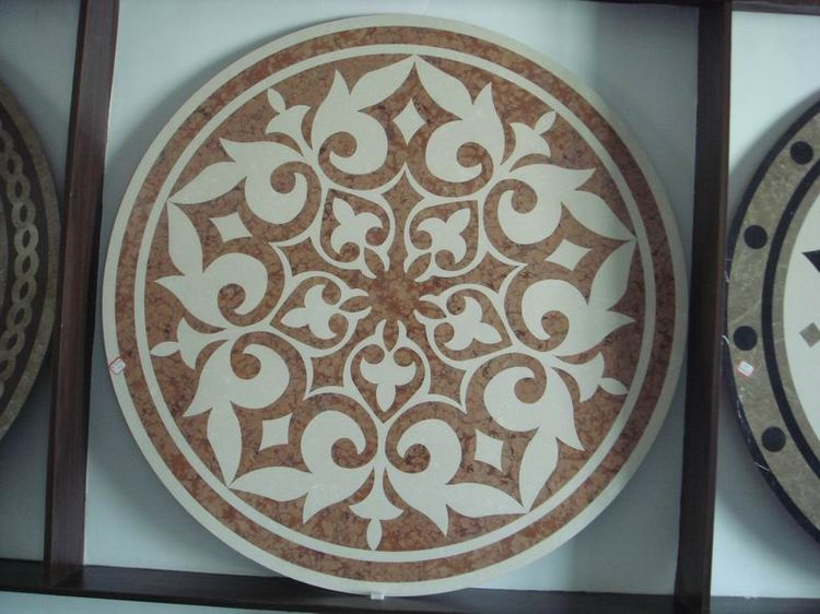 Water Jet Stone Medallions, China. ALSM036
