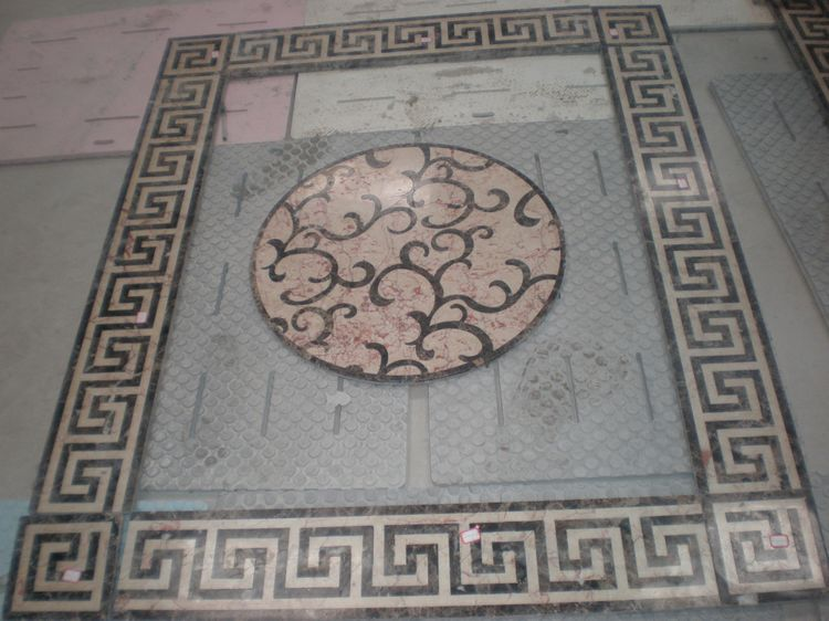 Stone Floor Medallion, China. ALSM062