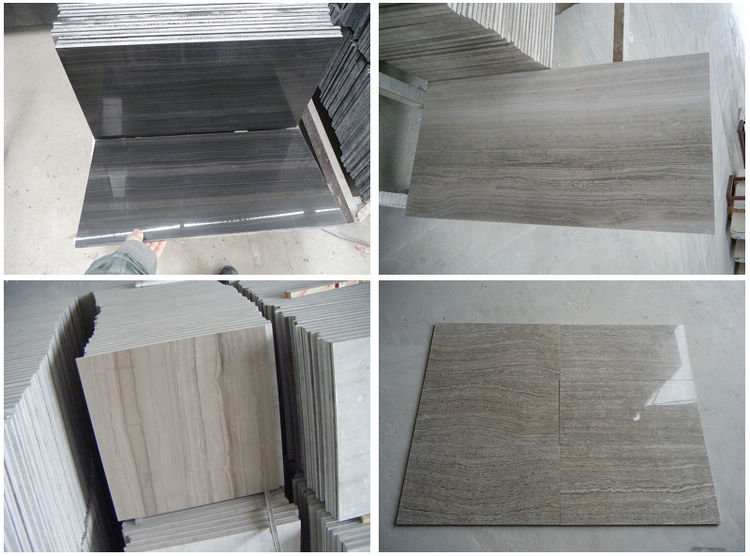 Chinese Marble Tiles, Wood Look Natural Marble Tile