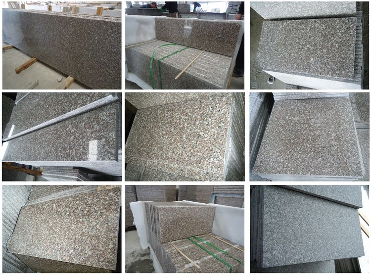 Chinese Granite G664 Tiles, Flamed, Polished, Honed