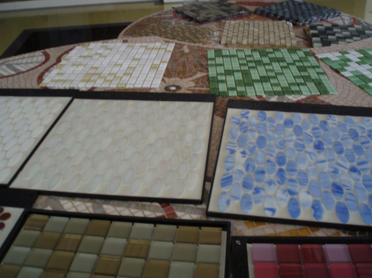 Artificial Marble Mosaic Tiles, AL060, China