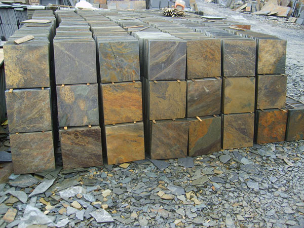 slate stone tiles wall cladding chinaal029